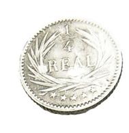 1/4 De Réal - Guatemala - Argent 835/..  - 1896 - Sup - Guatemala
