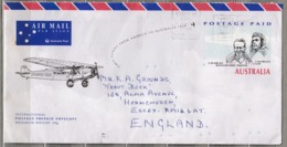 AUSTRALIA 1994 First Fly To America Anniv. Cover #24951 - Entiers Postaux