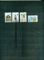 KIRIBATI ANNEE DE L'ENFANT 4 VAL NEUFS A PARTIR DE 0.60 EUROS - Kiribati (1979-...)