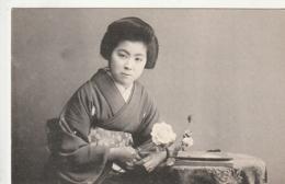 *** JAPON - JAPAN *** Japonaise En Habit Traditionel  - Unused TTB/so Nice - Japon