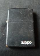 Briquet ZIPPO  Noir De 1990 - Zippo