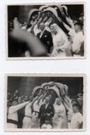 Lot De Deux Photographies Ybarnegaray - Celebridades De Antaño
