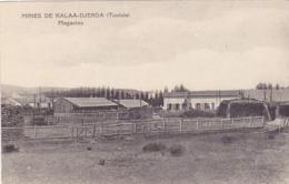 CPA TUNISIE - Kalâat Khasba (arabe : القلعة الخصبة), Anciennement Dénommée Kalâa Djerda - Les Mines - Magasins En 1910 - Tunisia