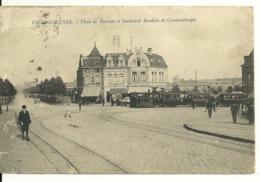 59 - VALENCIENNES / PLACE DE TOURNAI ET BOULEVARD BAUDOUIN DE CONSTANTINOPLE - Valenciennes