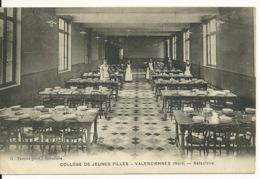 59 - VALENCIENNES / COLLEGE DE JEUNES FILLES - LE REFECTOIRE - Valenciennes
