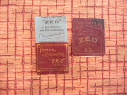 Papier A Cigarettes ZED Bloc De Change Pour étui Métalique - Unclassified