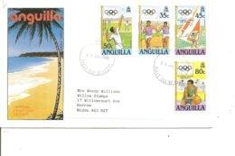 JO De Séoul -1988 ( FDC De Anguilla à Voir) - Sommer 1988: Seoul