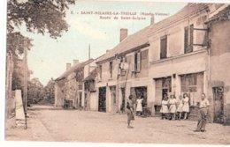 87 Saint Hilaire La Treille: Route De Saint Sulpice, - Andere Gemeenten