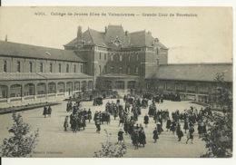 59 - VALENCIENNES / COLLEGE DE JEUNES FILLES - GRANDE COUR DE RECREATION - Valenciennes