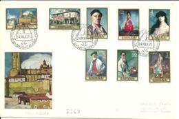 Spain 1971 Painting (XV): Ignacio Zuloaga, Mi  1912-1919, FDC - 1931-Hoy: 2ª República - ... Juan Carlos I
