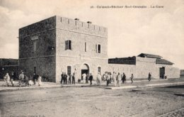 4285 Cpa Colomb Béchar - La Gare - Bechar (Colomb Béchar)
