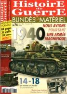 Histoire De Guerre Blindés Et Matériel  N°74 12/2006 - Français