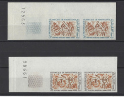 MAURITANIE. YT  N° 218-219  ND  Neuf **  1966 - Mauritania (1960-...)