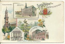 59 - SOUVENIR De VALENCIENNES / LIBRAIRIE EDITEUR LESIEUR 1900 - Valenciennes