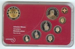 Schweiz: Münzset Divisionale 2000: 1R /5R/10R/20R /50R /1Fr/2Fr/5Fr  + 5Fr (150 Jahre Schweizer Franken) - Suisse