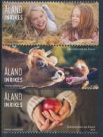 ALAND/Alandinseln 2019 Harvest Festival Set Of 3v**ex Booklet - Aland