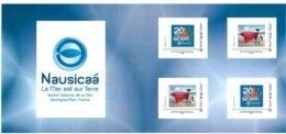 FRANCE CARNET COLLECTOR PARC NAUSICAA 20 ANS  NON PLIE TB VOIR SCANS - Collectors