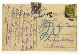 Ceylon, Colombo, Nachgebühr Schweiz - Ceylan (...-1947)