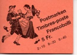MARKENHEFTCHEN Volksbräuche,postfrisch - Booklets