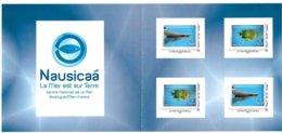 FRANCE CARNET COLLECTOR PARC NAUSICAA 2E VERSION PLIE TB VOIR SCANS - Collectors