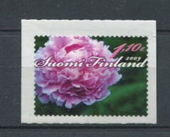 GER - FINLANDE 2009 - Yvert 1918 Adhesif - Fleur Pivoine De Chine - Neuf ** (MNH) Sans Trace De Charniere - Finland