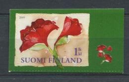 GER - FINLANDE 2009 - Yvert 1964 Adhesif - Fleur Noel Amaryllis - Neuf ** (MNH) Sans Trace De Charniere - Finland