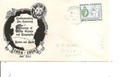 Kenya-Ouganda-Tanganiyka ( FDC De 1958 à Voir) - Kenya, Uganda & Tanganyika