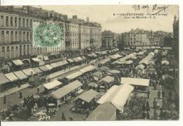 59 - VALENCIENNES / LE MARCHE PLACE D'ARMES - Valenciennes