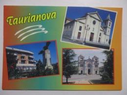 CP CPM CARTOLINA ITALIE ITALIA CALABRIA CALABRE TAURIANOVA V2000 - MULTIVUES SOUVENIR / MULTIVIEW MEMORIA - TBE - Italy