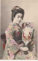 *** JAPON - JAPAN ***    Japonaise En Costume Traditionel - Unused TTB/so Nice - Other