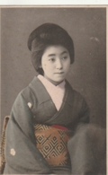 *** JAPON - JAPAN ***    Japonaise En Habits  Traditionels Unused TTB/so Nice - Otros