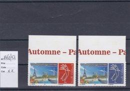 Timbres Personnalisés Adhésifs NOUVELLE CALEDONIE N°1350/ 1351 Avec Logo Cagou . Rares . Petits Tirages - Nuevos