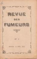 Revue Des Fumeurs N° 4 - Pipe TERMINUS - Dokumente