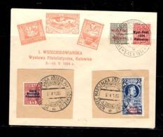 Pologne Carte-souvenir Avec YT N° 373A/373B Oblitération 1er Jour. B/TB. A Saisir! - Covers & Documents