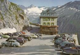 "Borgward Hansa 1500,Opel Olympia Rekord,Oldtimer,Furkastrasse,Hotel ""Belvedere"", Ungelaufen - Turismo"