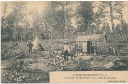 SAINT AUBIN CHATEAUNEUF - Campement De Charbonniers - Francia