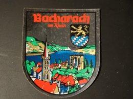 Blason écusson Adhésif Autocollant Sticker Coat Of Arms; Aufkleber Wappen  Bacharadj - Obj. 'Remember Of'