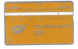 Turkey - L&G - 120 Units - PTT Yellow - 912D - Old Card - Turquie