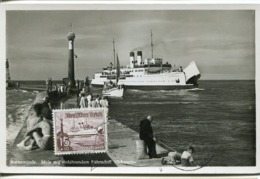 48793 Germany Reich, Maximum 1-6-1938,  Fahrschiff Schwerin, Ferry Boat - Briefe U. Dokumente