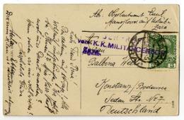 Österreich,Zara, K.K.Militärcensor - Cartas