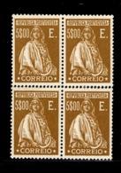 Portugal YT N° 436 En Bloc De 4 Neufs **/*. TB. A Saisir! - 1910-... Republic
