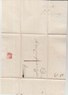 LAC 1849 CENTO TO FERRARA CACHET CENTO - Italia