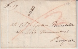 LAC 1819 ADEO ? - 1. ...-1850 Prephilately