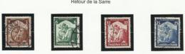 Allemagne N° 524 à 527 Oblitérés De 1935 - Deutschland