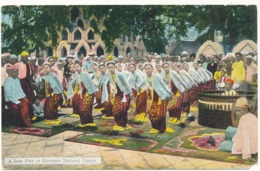 A Yein Pwe Or Burmese National Dance - Myanmar (Birma)