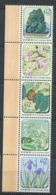 GER - JAPON 2019 - Yvert 9309/13 - Fleur Arbre - Neuf ** (MNH) Sans Trace De Charniere - Unused Stamps