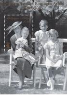 Koningin Astrid Met Kinderen - Oblitérés