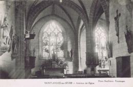 44 - Saint-André-sur-Sèvre - Intérieur Eglise - Andere Gemeenten