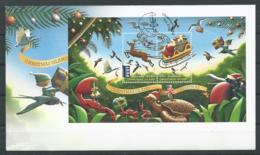 Christmas Island 2016 - Noël (FDC Bloc) - Christmas Island