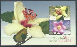 Norfolk Island 2017 - Fleurs (bloc) - Ile Norfolk
